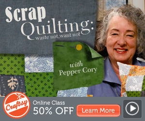 Online Scrap Quilting Class