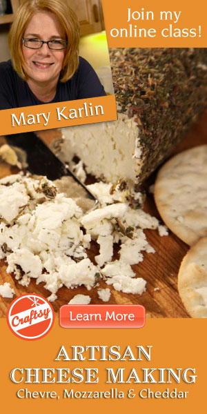 artisan cheese making online class at craftsy.com