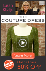 Online Couture Dress Class at Craftsy.com