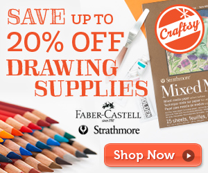 image save 20% off Drawing Supplies Shop now - Craftsy