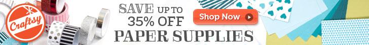 Paper Crafts Supplies - Serger Pepper 4 Craftsy - 9 diy spring decor free patterns