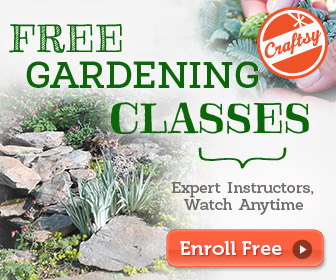 free gardening classes, watch online anytime