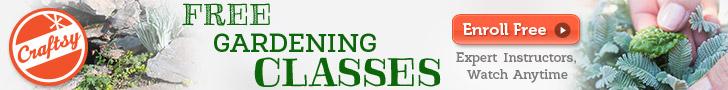 Free gardening classes on Craftsy