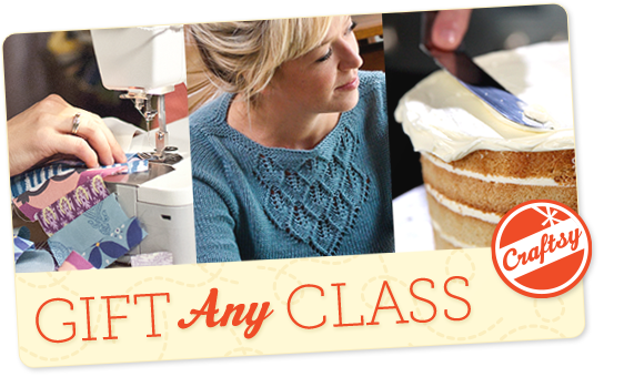 Craftsy Gift Any Class