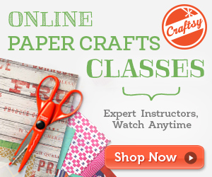 Learn paper crafts online with video lessons at craftsy