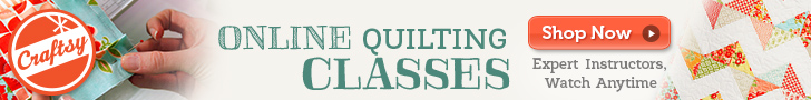 Craftsy Online Quilting Classes