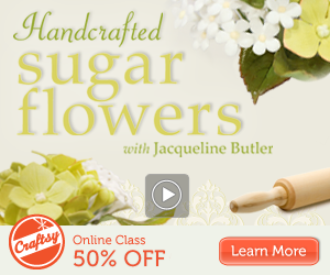Online Handcrafted Sugar Flowers Class