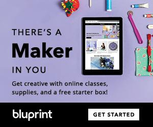 FREE Starter Box With Annual Bluprint Subscription at mybluprint.com 3/23-3/24/19.