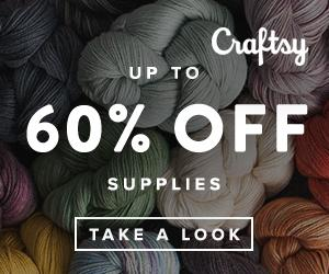 Sale! Up To 60% Off Kits + Supplies at Craftsy.com through 9/23/18.