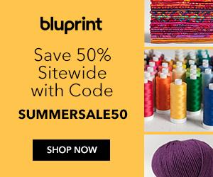 Bluprint Members Only - Save 50% On All Kits & Supplies Sitewide with code SUMMERSALE50 6/20-6/23/19.