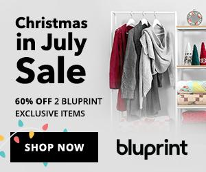 60% Off 2 Bluprint Exclusive Items with coupon code 2WITH60OFF at shop.mybluprint.com 7/9-7/15/19.