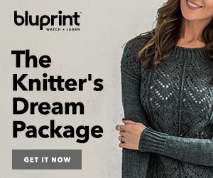 FREE Knitting Gifts With Bluprint Subscription - $25 Craftsy.com Coupon + Choice Of Kit at myBluprint.com through 9/29/18.