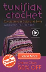 Online Tunisian Crochet Class