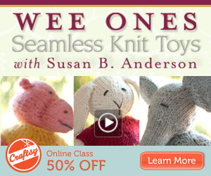 Online Knit Toys Class