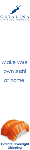 Catalina Offshore Products - Fresh Sushi Products Delivered to Your Door