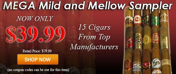 Mega Mild and Mellow Cigar