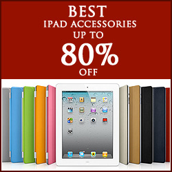Up to 80% OFF iPad Accessories + Free shipping