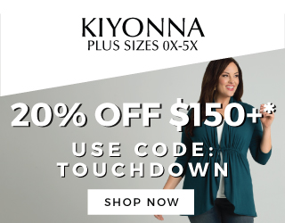 plussize clothing sales coupon