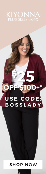 $25 off $100+ with code BOSSLADY