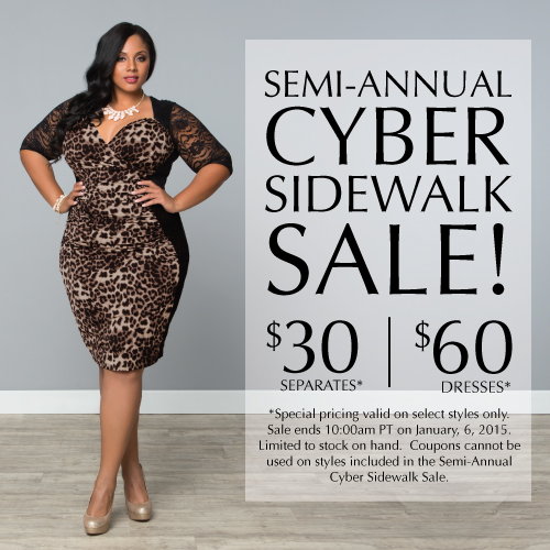 Semi-Annual Cyber Sidewalk Sale