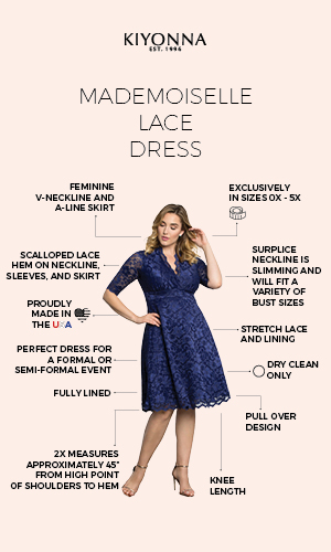 Mademoiselle Lace Dress
