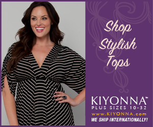 Stylish Plus Size Tops Banner