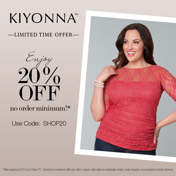Kiyonna Stylish Plus Size Clothes for Women