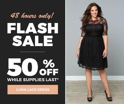 Luna Lace Flash Sale
