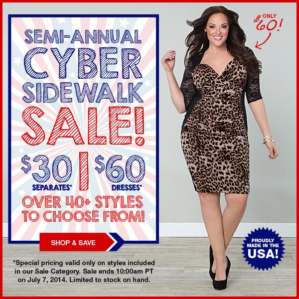 Semi-Annual Cyber-Sidewalk Sale