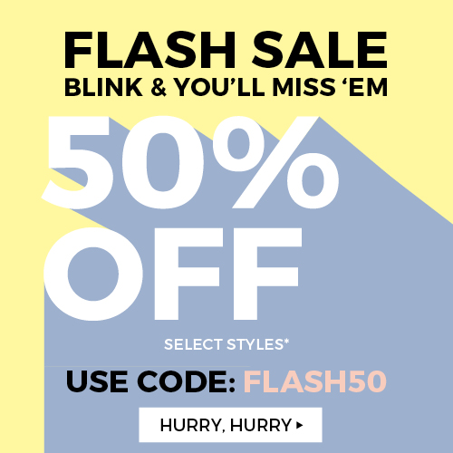 50% off Select Items