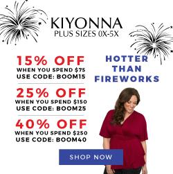 25% off $150+   Use Code: BOOM25   KIYONNA