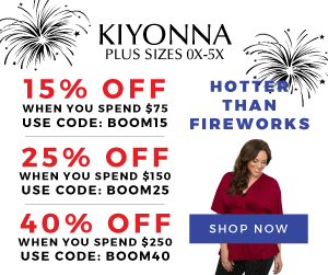 40% Off $250+ | Use code: BOOM40 | Kiyonna