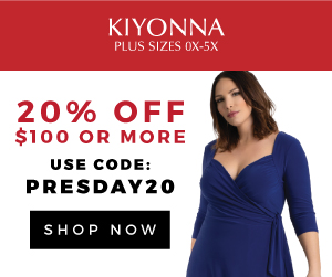 20% Off $100+. Use code PRESDAY20 at checkout.
