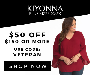 $50 OFF $150+. Use code VETERAN at checkout.