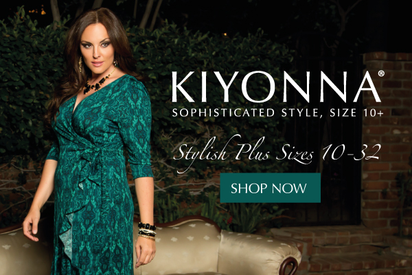 Sophisticated plus size dresses from Kiyonna.