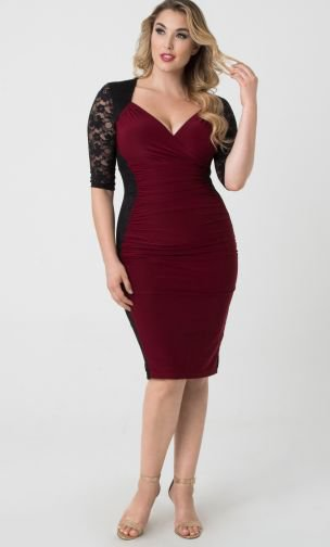 Cocktail Dress, Valentina Illusion Dress