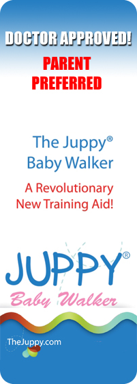 Teach your baby to walk with the Juppy!