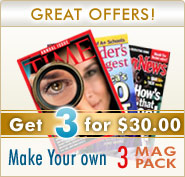 Magazine 3-Pack for $30
