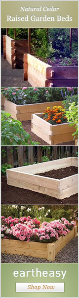 Purchase Raised Garden Beds in the Eartheasy.com Store