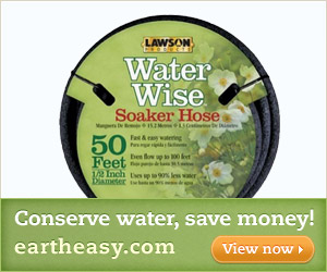 Conserve Water, Save Money! - Eartheasy.com