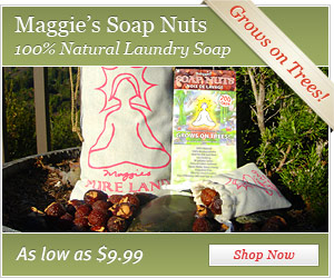 Maggie's Soap Nuts: the 100% natural soap that grows on trees!