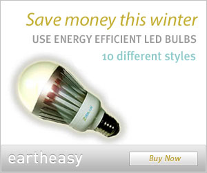Buy energy efficient LED bulbs at Eartheasy.com