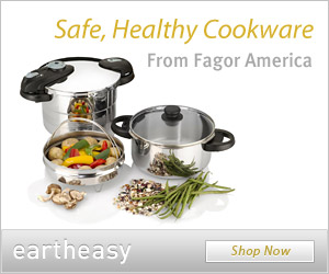 Safe, healthy cookware from Fagor America in the Eartheasy.com store