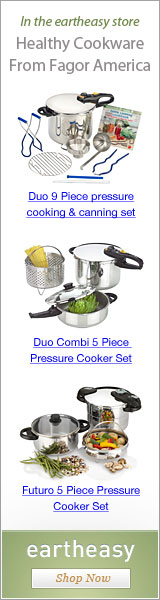 Healthy cookware from Fagor America in the Eartheasy.com store