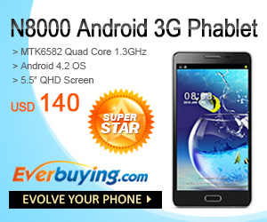 Android Phablet at Everbuying.com