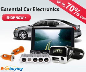 Car Electronics: Up to 70% OFF at Everbuying.net!
