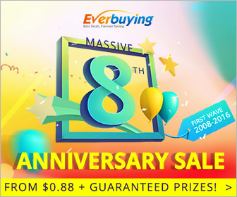 Everbuying 8th Anniversary Sale