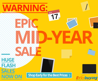Everbuying Mid-Year Flash Sale: Up to 70% OFF and Free Shipping