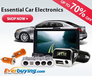 Great News with Super High-Discount + Free Shipping! Enjoy UP TO 70% OFF for the Essential Car Electronics at Everbuing.com! More Preferential, More Saving!