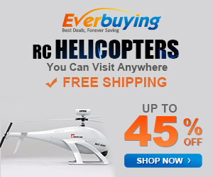 Rc helicopters! You can visit anywhere! Enjoy up to 45% OFF for RC helicopters! Free Shipping at Everbuying! Shop now!